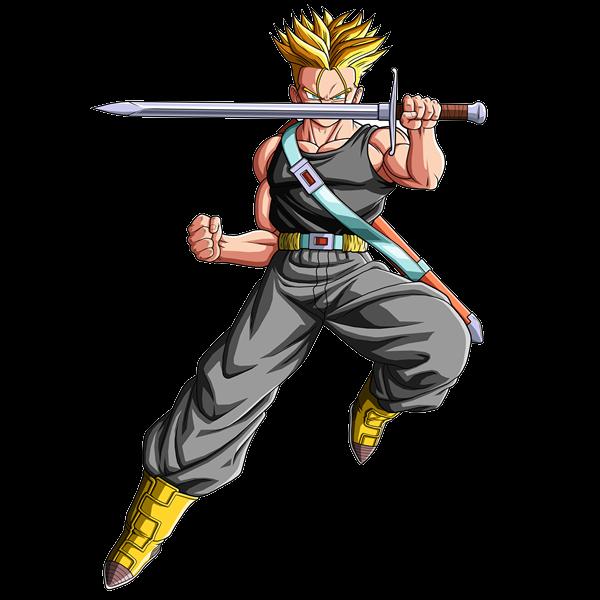 """Renders De Dbz Por """"Dragon Ball Z Los Mejores"""": Trunks Del"""