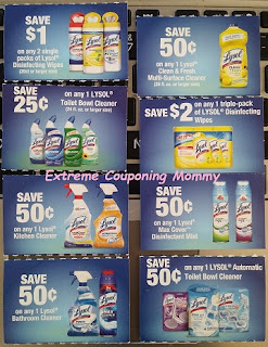 picture about Lysol Printable Coupons identify Serious Couponing Mommy: Lysol Dangle Tag Discount codes