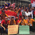 Indonesia Vs Malaysia - Suporter Indonesia Sudah Panas sejak Laga Indonesia Vs Kamboja Usai, 11 Foto Ini Buktinya