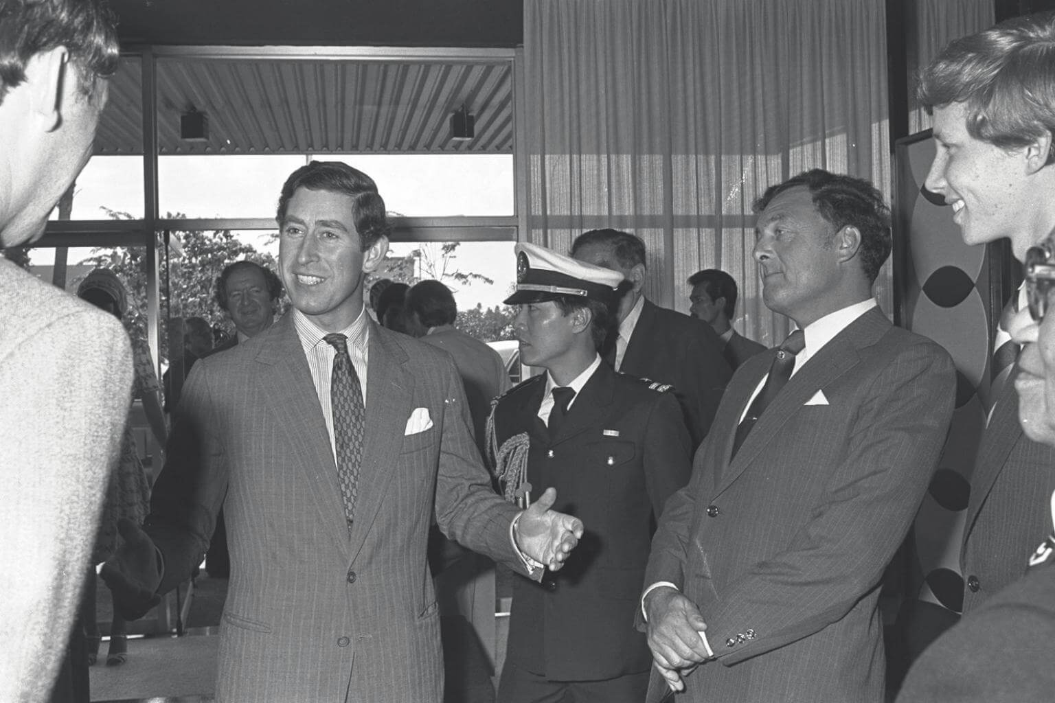 Prince Charles during his first visit to Singapore in 1979.