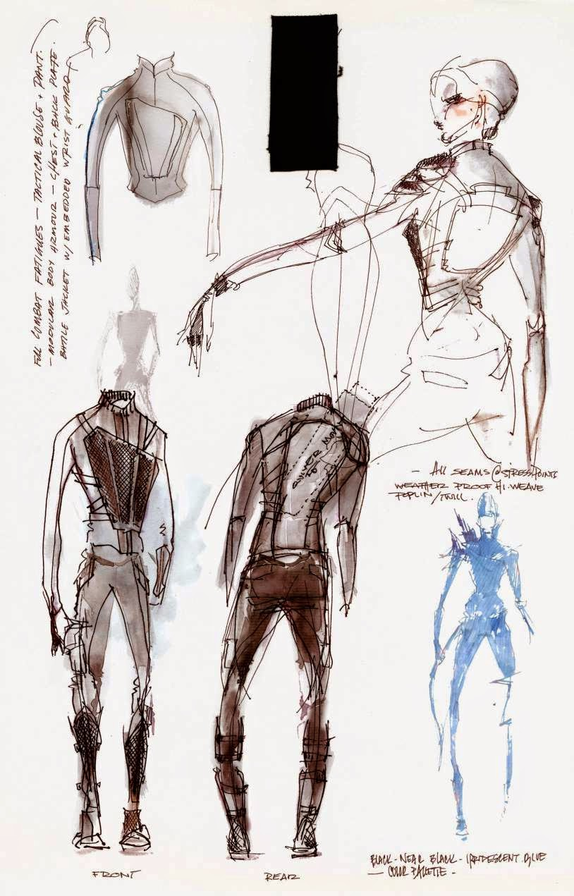 Welcome To District 12 Kurt And Bart Go In Depth With Cinna S Sketchbook