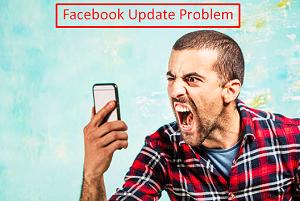 Facebook Update Error
