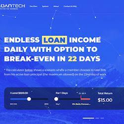 LoanTech: обзор и отзывы о loantech.top (HYIP платит)