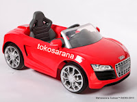 Mobil Mainan Aki Junior W458 Audi R8 XXL - Produced under license of Audi AG