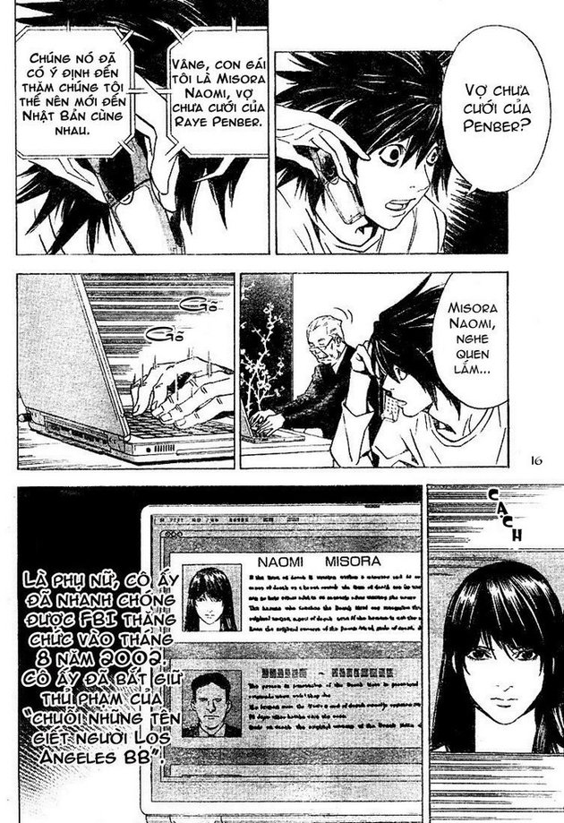 Death Note chapter 015 trang 16