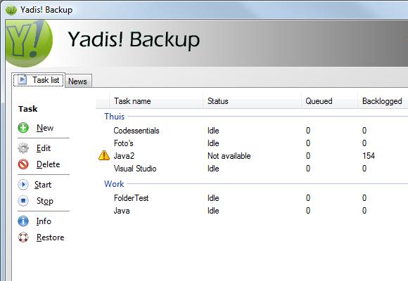 Yadis! Backup 1.10.15 – Πάρτε backup τα αρχεία σας ποιο εύκολα από ποτέ