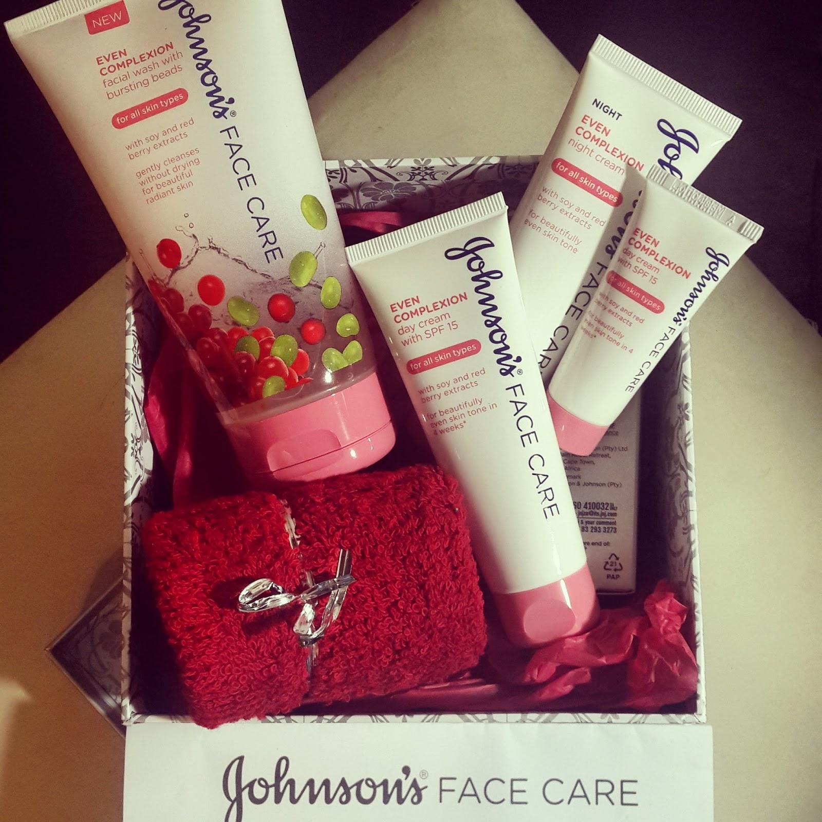 Johnson's® Even Complexion Skincare Range