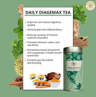 Curcumin Tea | Turmeric Tea | Daily Diagemax Tea