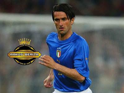 Christian Panucci Berseragam Timnas Italia