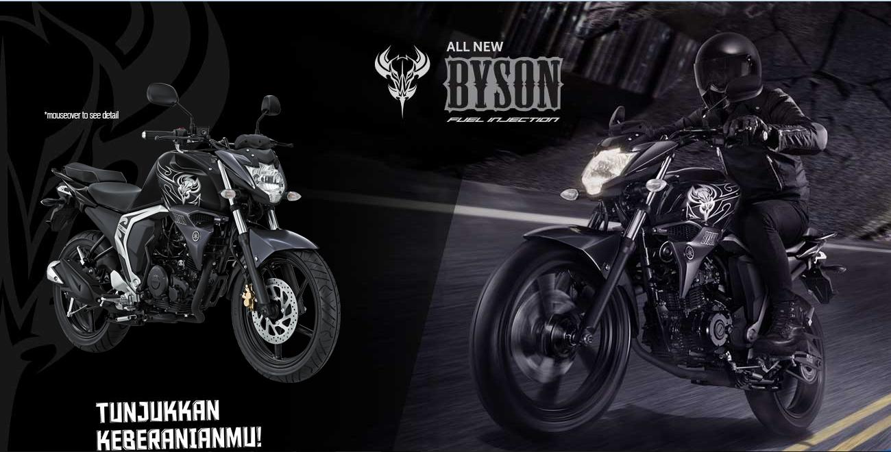 Harga dan Spesifikasi Motor Yamaha Byson FI 2018