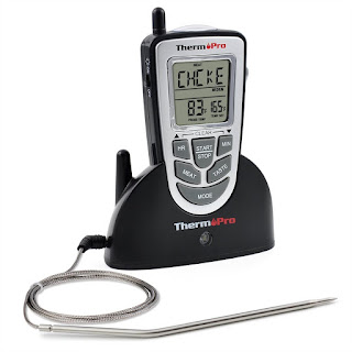 ThermoPro TP09 - Digital Smoker BBQ Oven Grill Food Wireless Cooking Thermometer