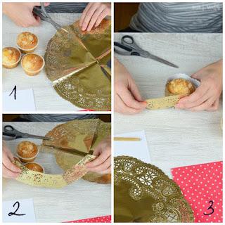 como hacer wrapper con una blonda