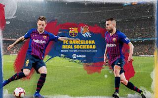 مباشر مشاهدة مباراة برشلونة وريال سوسييداد بث مباشر 20-04-2019 الدوري الاسباني يوتيوب بدون تقطيع