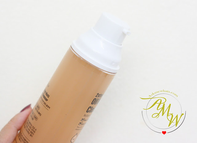 a photo of Esfolio 2 Step Multi Oil Peeling & Cleanser Review