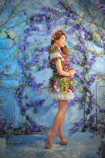 お花衣装|美人マジシャン!? アリス(有栖川 萌)公式ブログ|マジックショー,イリュージョン,手妻(和妻,和風手品)の全国出張承ります♪