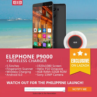 Elephone Officially Coming to the Philippines via Lazada