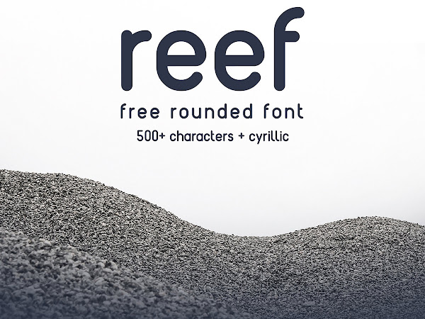 Download Reef Rounded Font Free