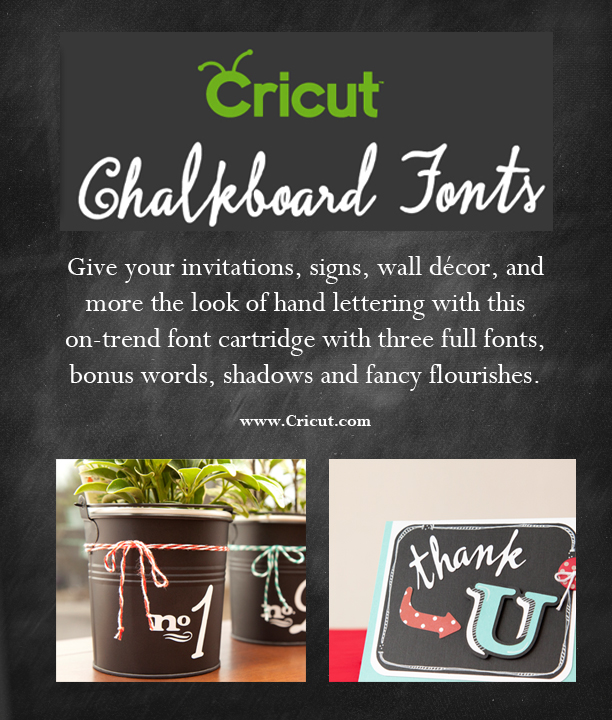 My Cricut Craft Room Hello Thursday Chalkboard Fonts And
