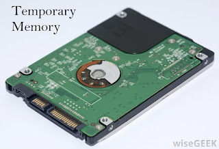 what is temporary memory, how the temporary memory works, volatil memory