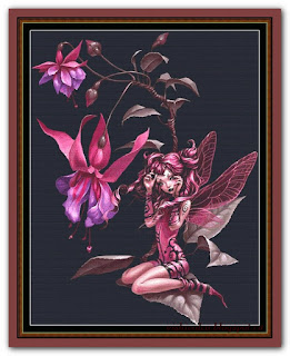 """Fuschia Fairy"" Witchykitt Designs"