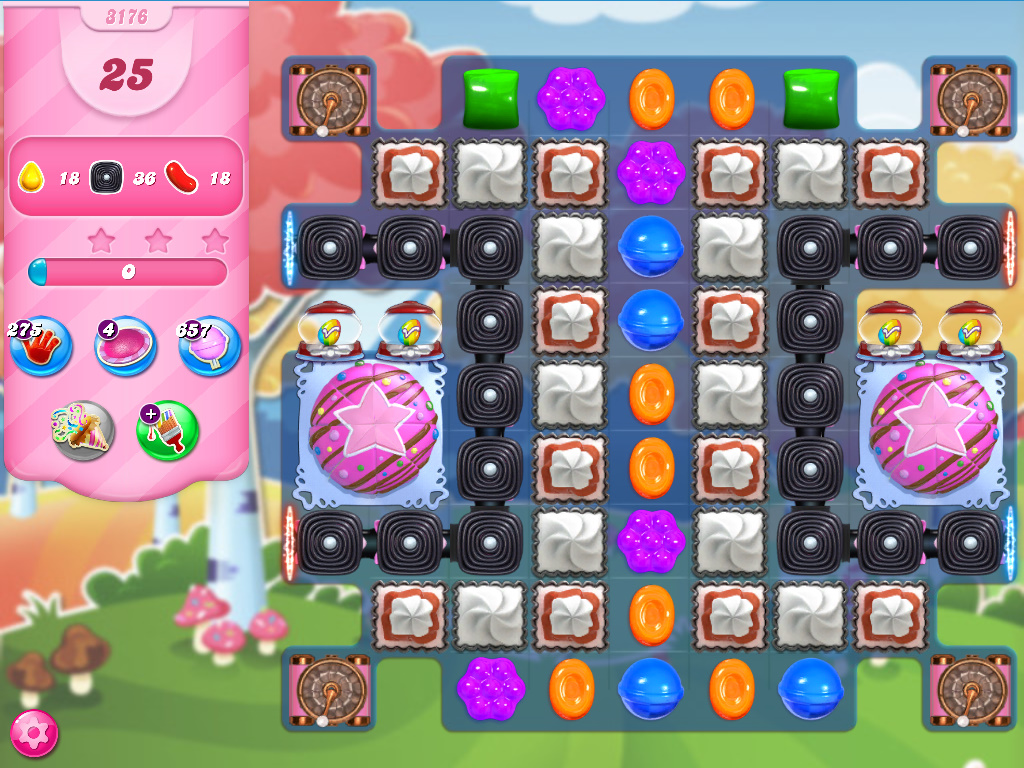 Candy Crush Saga level 3176