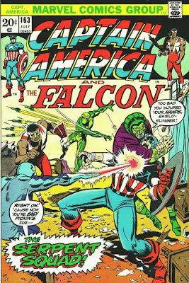 Captain America and the Falcon #163, the Serpent Squad