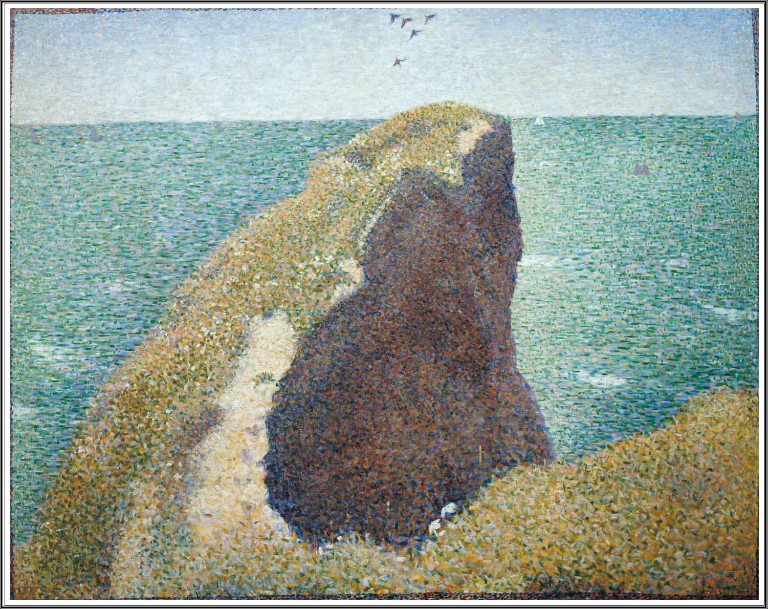 Le Prince Lointain Georges Seurat 18591891 Le Bec Du Hoc