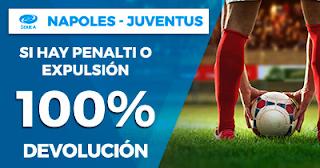 Paston Promoción Calcio: Napoles vs Juventus 1 diciembre