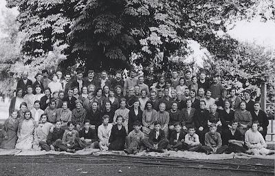 Filature Levavasseur sur l'Andelle - Fontaine-Guérard - Le personnel de la filature en 1933