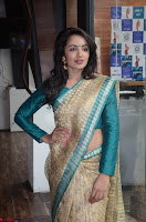 Tejaswi Madivada looks super cute in Saree at V care fund raising event COLORS ~  Exclusive 029.JPG