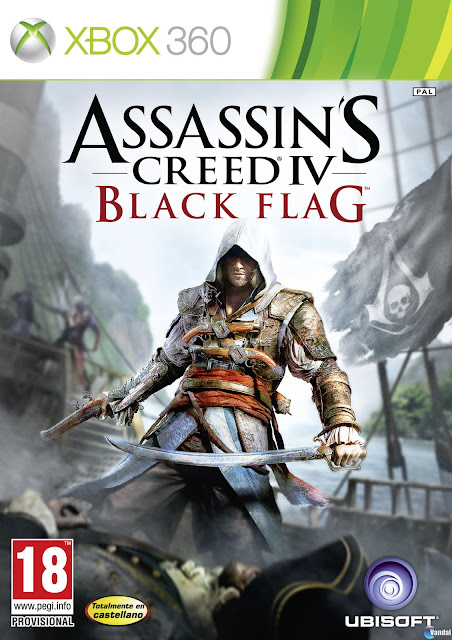 Assassins Creed IV Black Flag - Xbox 360 - Portada