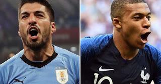 موعد مباراة فرنسا وأوروجواي الودية اليوم الثلاثاء 20-11-2018 في اللقاء الودي الدولي