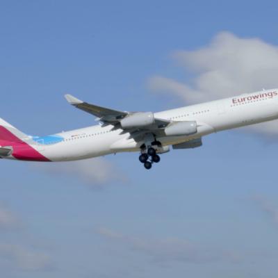 Integrazione a tempo di record: Eurowings riceve il 77° aeromobile