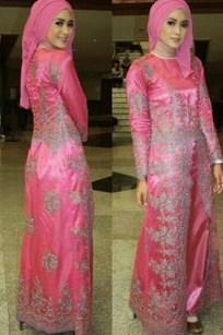 Model Kebaya Modern Muslim untuk wisuda