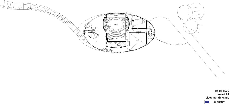Site plan drawing © courtesy of architectenbureau paul de ruiter