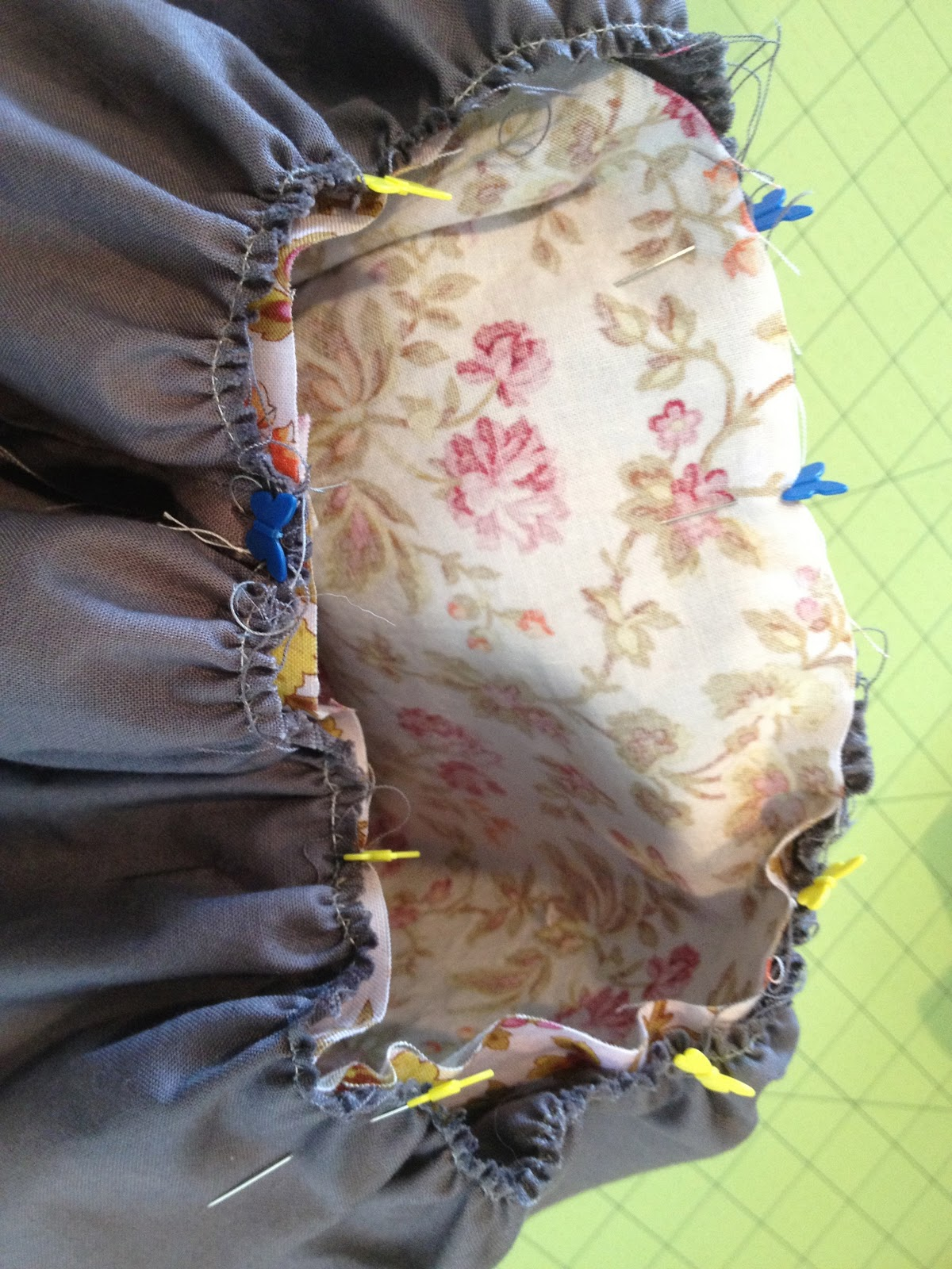 Another Ordinary Life Reversible Infant Bubble Skirt Tutorial