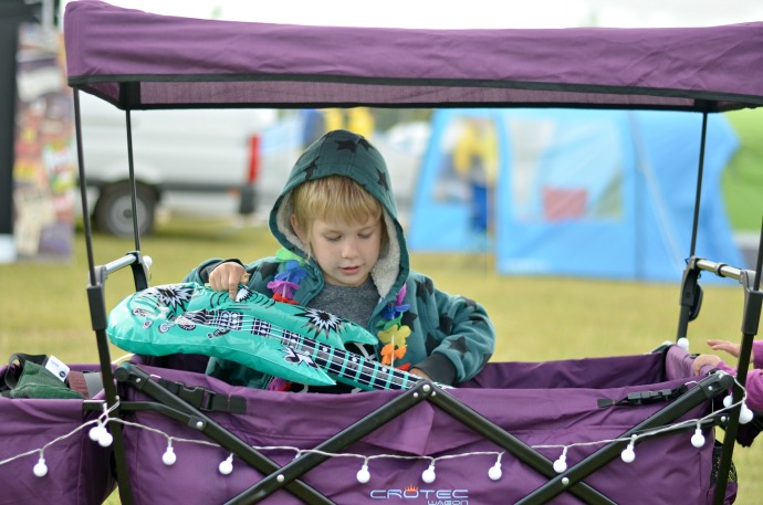 Wilderness festival, family friendly festival, festival with children, festival wagon