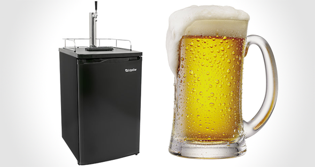 Edgestar Kegerator Keg and Beer Cooler