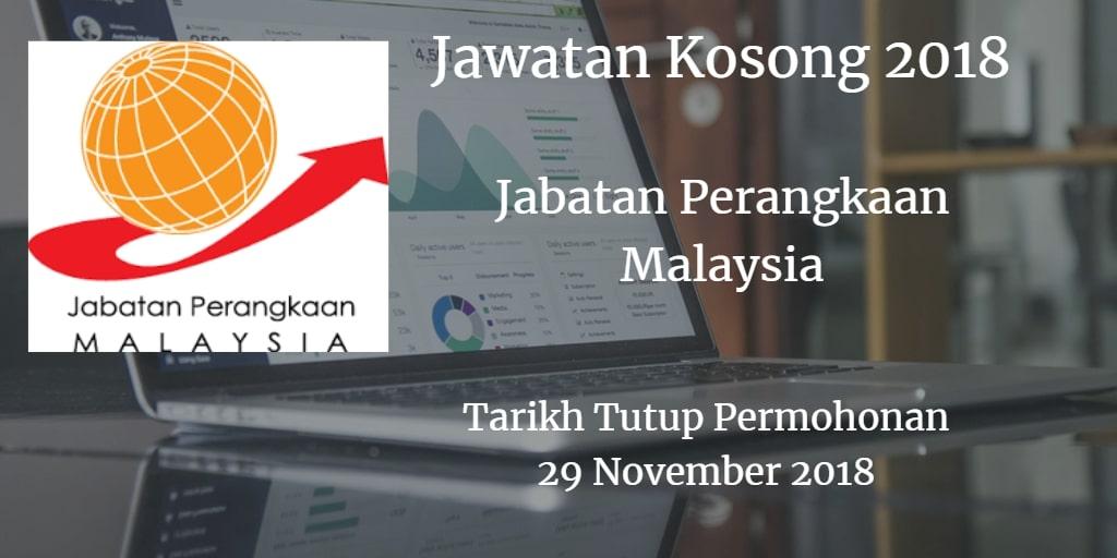 Jawatan Kosong Jabatan Perangkaan Malaysia 29 November 2018