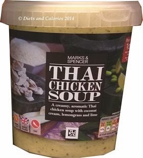 Marks & Spencer Thai Chicken Soup