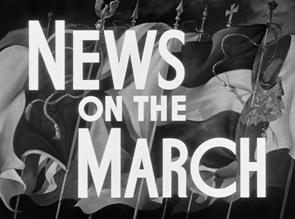 News on the March in Citizen Kane