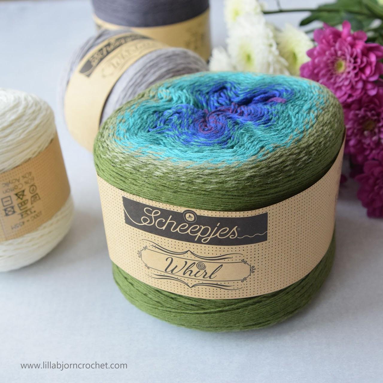 Whirl yarn by Scheepjes