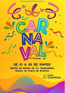 Carnaval da Ilha terá corte carnavalesca,  shows e desfiles na av. Copacabana