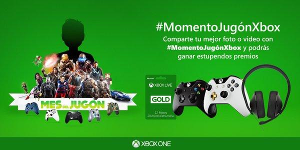 Xbox España anuncia el concurso #MomentoJugónXbox 1