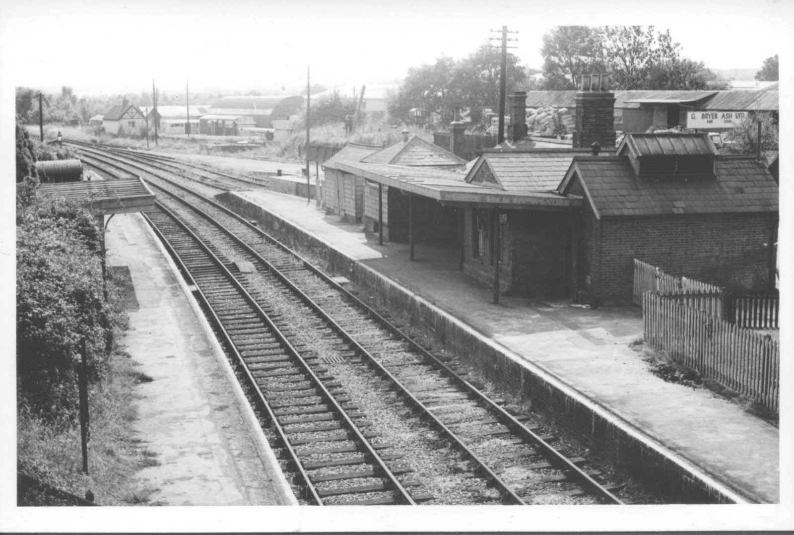 The Salisbury And Dorset Junction Railway Verwood