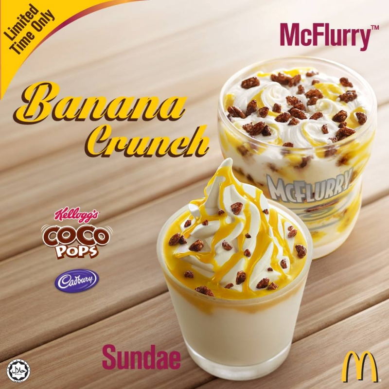 Around The World Mcdonald S Malaysia Offers Banana Pie