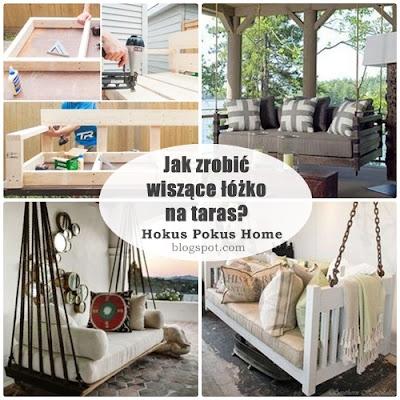 Wiszące łóżko na taras DIY - jak samemu zrobić sofę - huśtawkę! TOP 10!