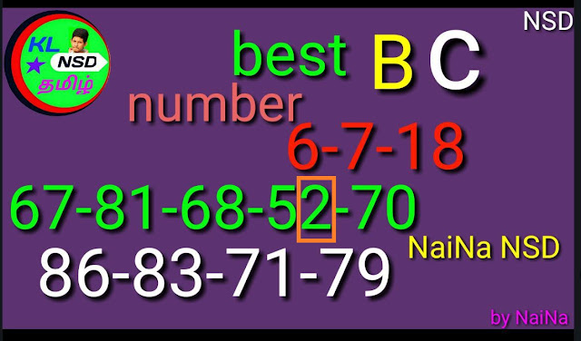 Nirmal NR-76 Final BC  numbers by Raja Naina kerala lottery guessing on 06-07-2018 and kerala lottery predictions by keralalotteries.info