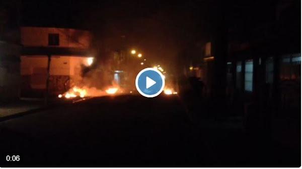 Maracay bajo fuego, saqueos y represión