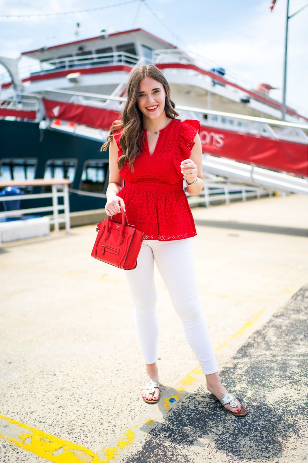 The Perfect 4th of July Outfit styled by popular New York fashion blogger, Covering the Bases